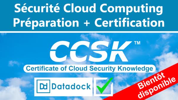 Sécurité Cloud - CCSK (Datadock) 1