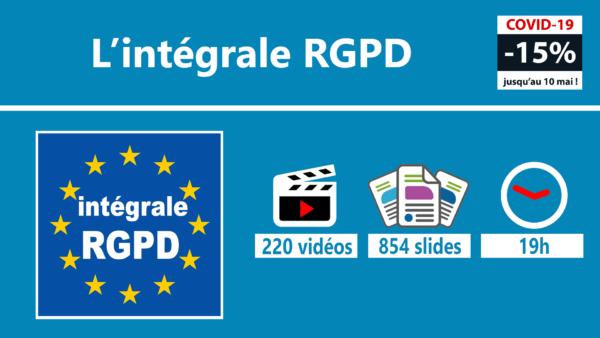 L'intégrale RGPD 1